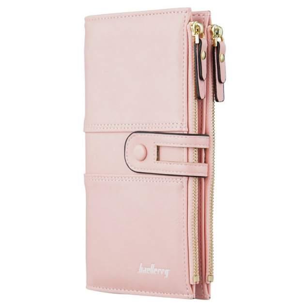 Портмоне женское Baellerry Classic Fashion розовое