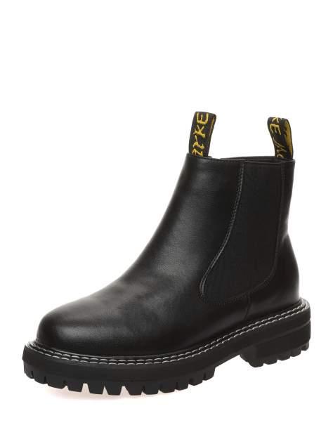 Ботинки женские MAKFINE 41MK-30-07A2, черный