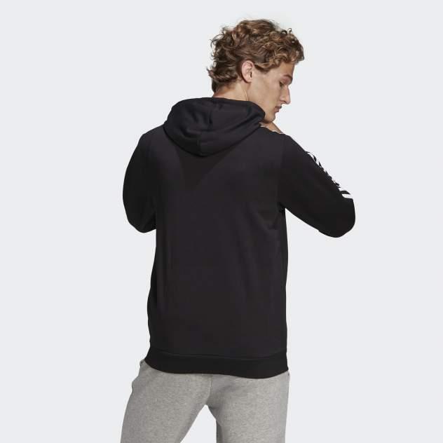Толстовка мужская Adidas Essentials 3-Stripes Hooded, черный
