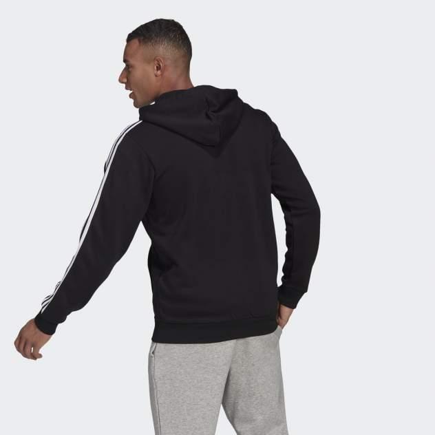 Толстовка мужская Adidas M 3S FL FZ HD, черный