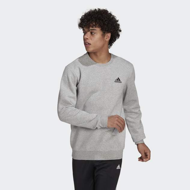 Толстовка мужская Adidas M FEELCOZY SWT, серый