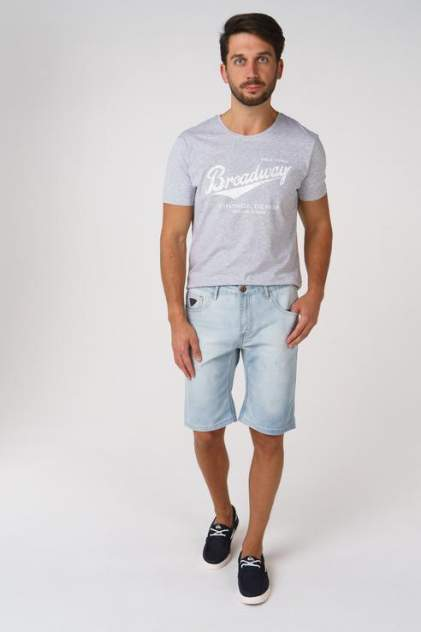 Джинсовые шорты мужские BROADWAY 20101335 голубые 52