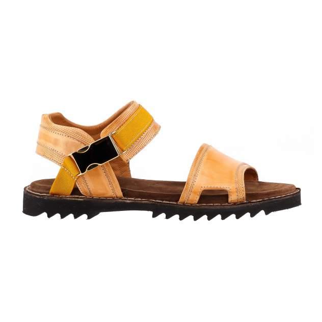 Сандалии мужские FORTE S173360 желтые 41 RU