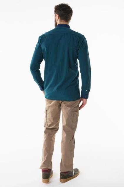 Рубашка мужская Sahera Rahmani 7170401 зеленая 56