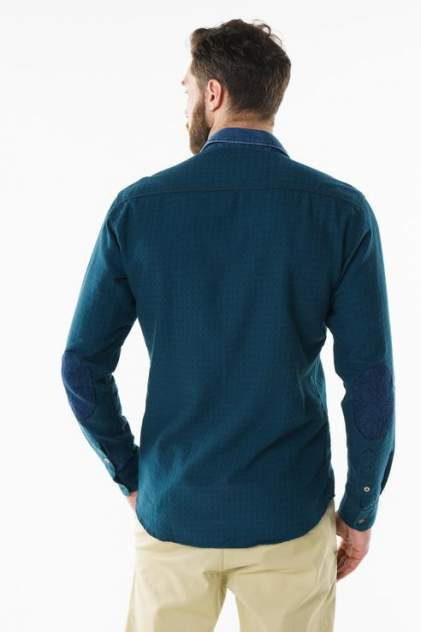 Рубашка мужская Sahera Rahmani 9011522-40 голубая 56