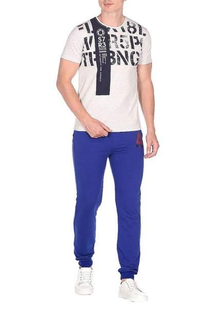 Спортивные брюки мужские BLACKSI 5203 синие 3XL
