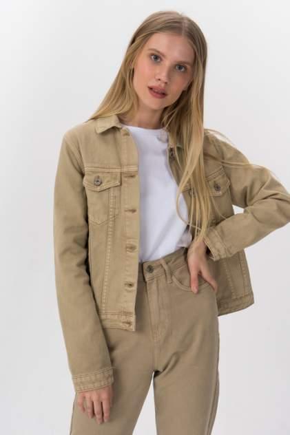 Женская джинсовая куртка Tom Farr T4F W2904.14, бежевый