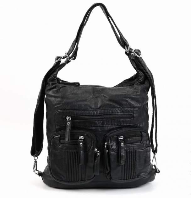 Сумка шоппер женская Fuzi house N01 черная