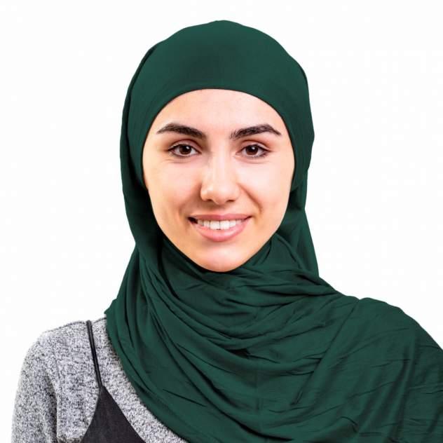 Хиджаб женский Asiyah AY-HJB3-01 темно-зеленый р. 170x60