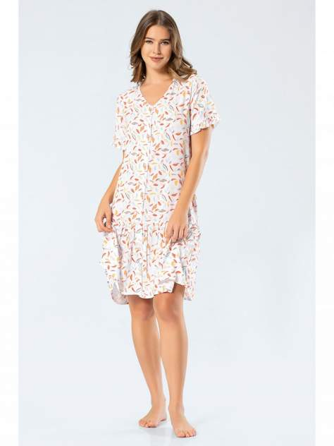 Домашнее платье Turen 3332, разноцветный