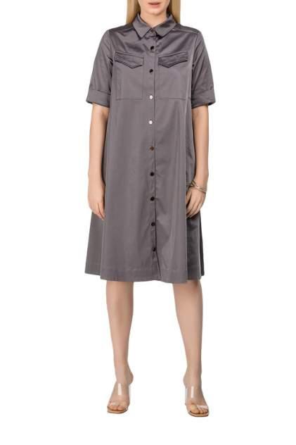Платье-рубашка женское Helmidge 8480 серое 10