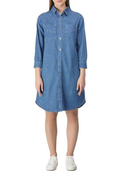 Платье-рубашка женское Helmidge 8448 синее 12