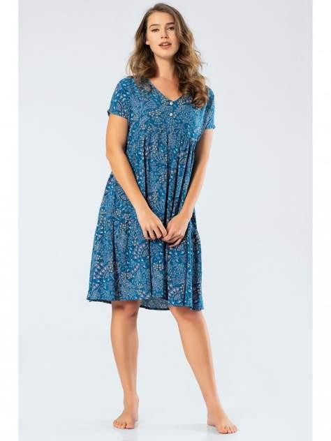 Домашнее платье Turen 3338, синий