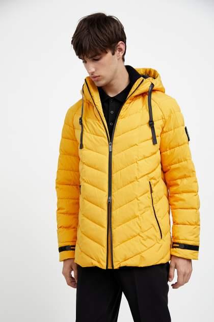 Куртка мужская Finn Flare A20-42000 желтая 56