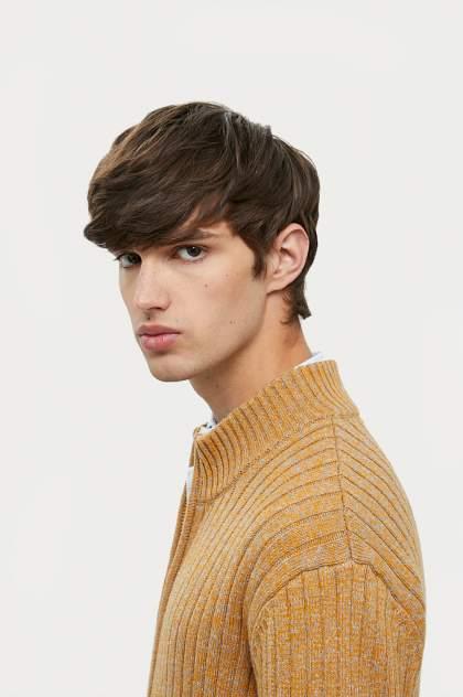Кардиган мужской Finn Flare A20-22109, оранжевый