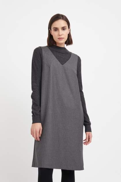 Женское платье Finn Flare A20-32065, серый