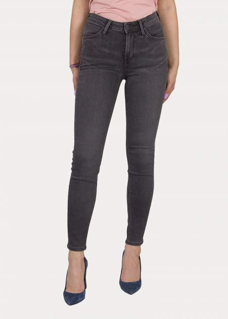 Женские джинсы  Lee L626YGHO, серый