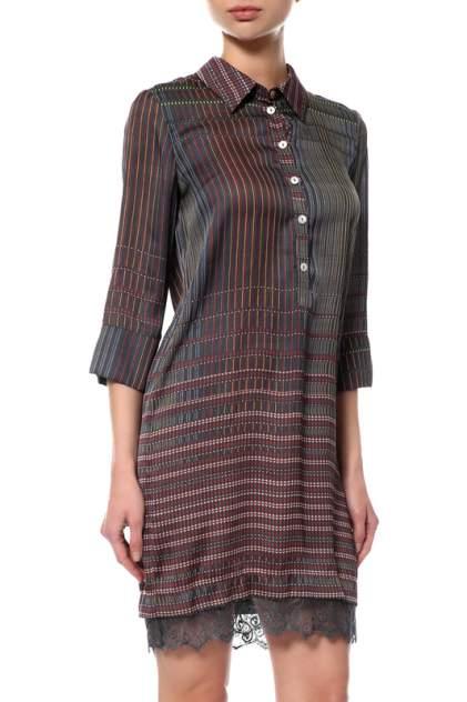 Платье женское Cristina Gavioli 7973 синее 40 IT