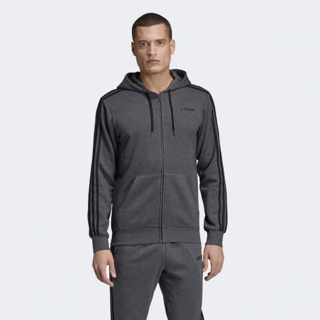 Толстовка мужская Adidas DX2528 серая XL