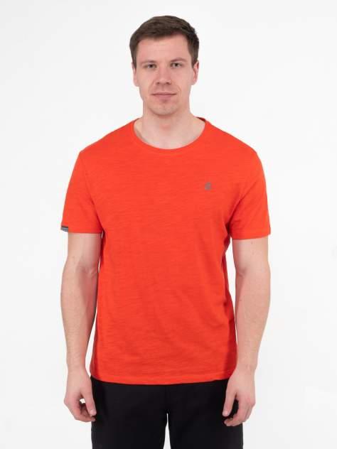 Футболка мужская Классическая Великоросс оранжевая 60 RU