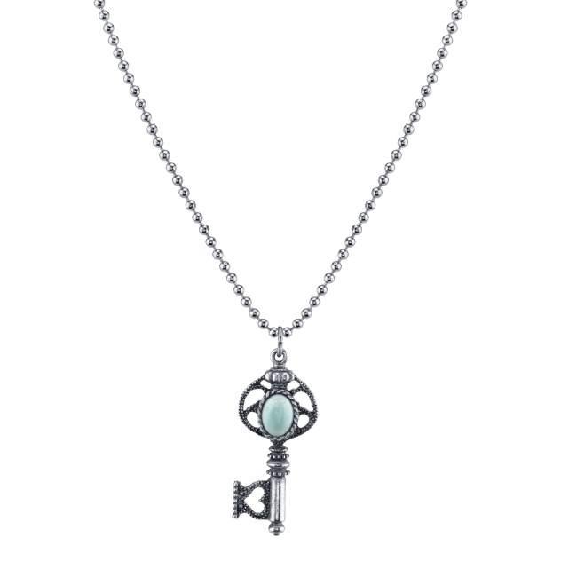 Подвеска из бижутерного сплава с кристаллом 55 см 1928 Jewelry 1928-52956