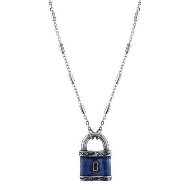 Подвеска из бижутерного сплава с эмалью 50 см 1928 Jewelry 1928-52963