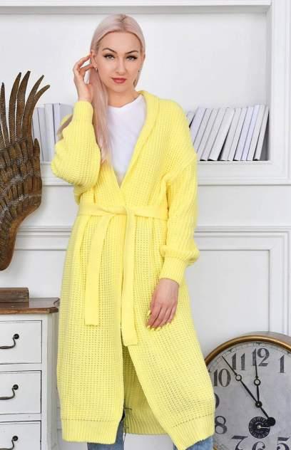 Кардиган женский MILANIKA 1202-1, желтый