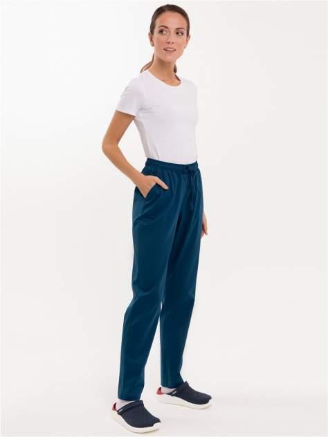 Брюки медицинские женские Med Fashion Lab 03-715-06-176 синие 40-164