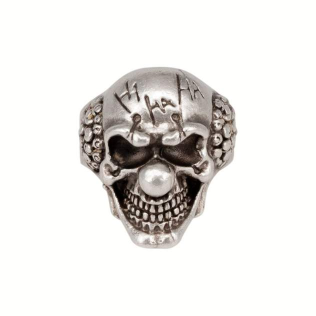 Кольцо бижутерное Клоун OTOKODESIGN 55910 серебристое р.OS