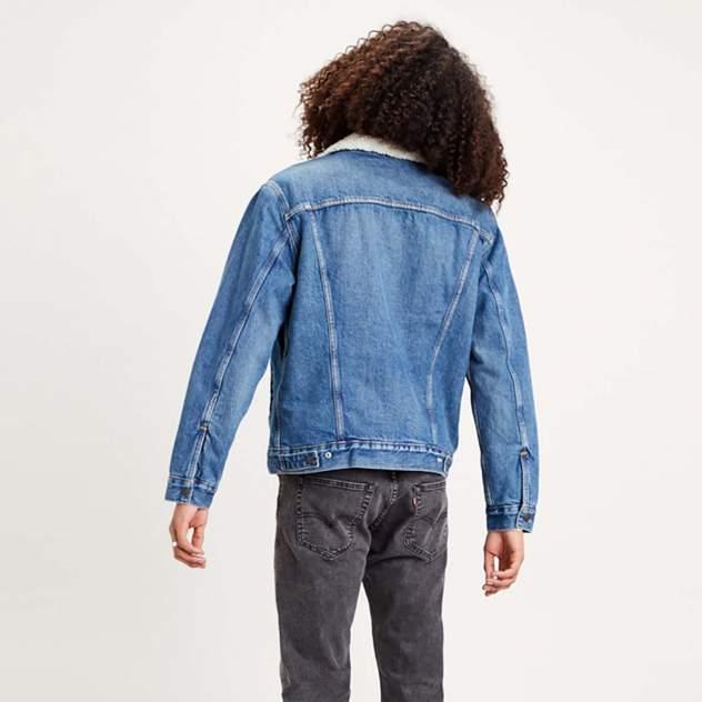 Джинсовая куртка мужская Levi's 16365-0128 синяя S