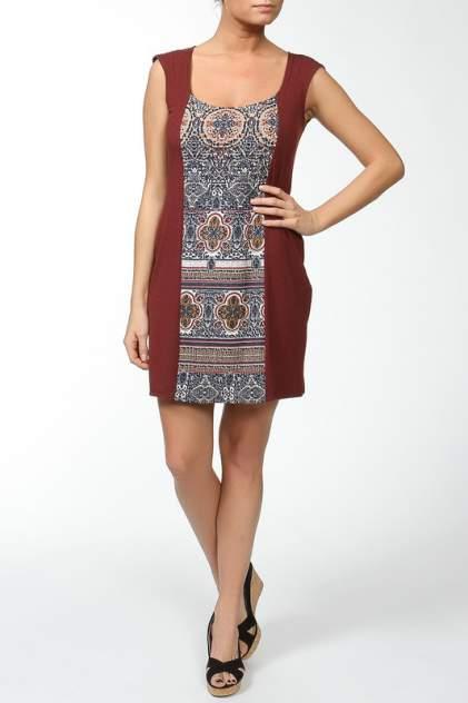 Домашнее платье Веста 10048, коричневый