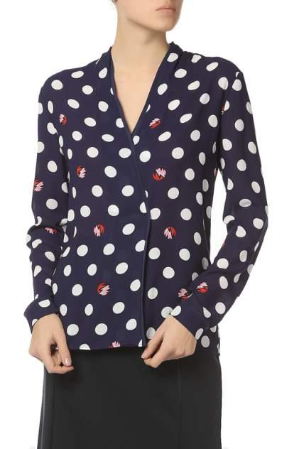 Блуза женская Marc Cain HC5121W04/374 синяя 2 DE