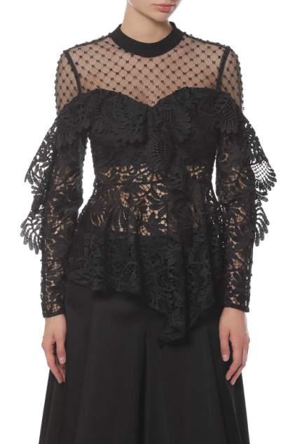 Женская блуза Self-Portrait SP19-075L/BLACK, черный
