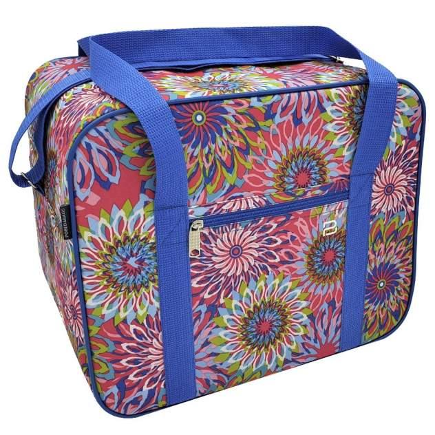 Дорожная сумка женская Pobedabags 05029 фиалковая, 36х30х27 см
