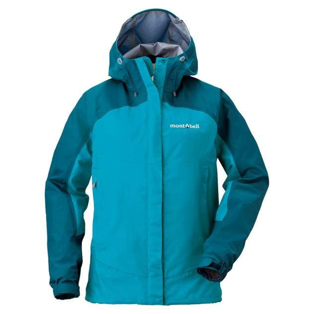 Куртка Montbell Thunder Pass Jacket W's, голубой
