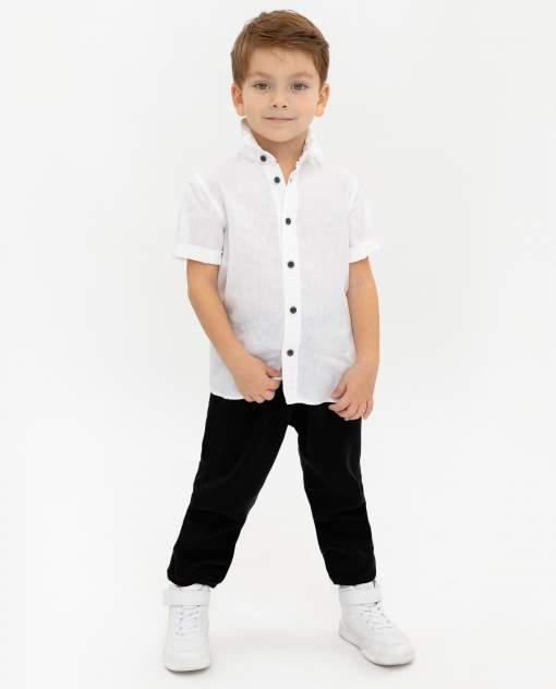 Рубашка для мальчиков Gulliver, цв. белый, р.128