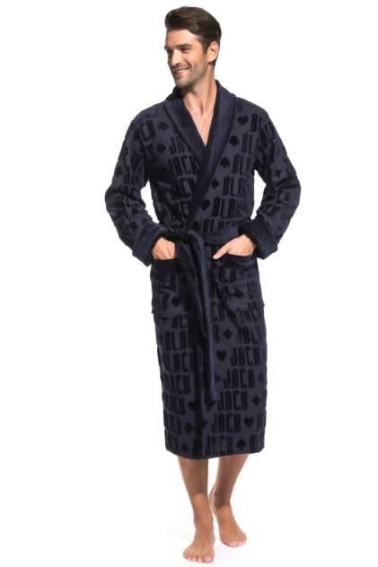 Домашний халат мужской Peche Monnaie Black Jack синий 3XL