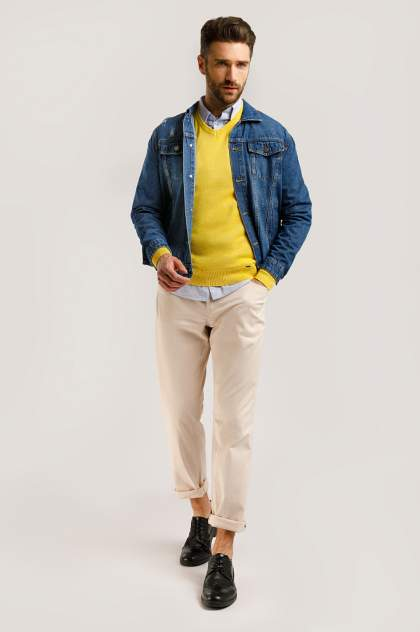 Куртка мужская Finn-Flare B20-25000 синяя XL