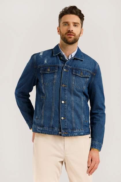 Мужская джинсовая куртка Finn Flare B20-25000, синий
