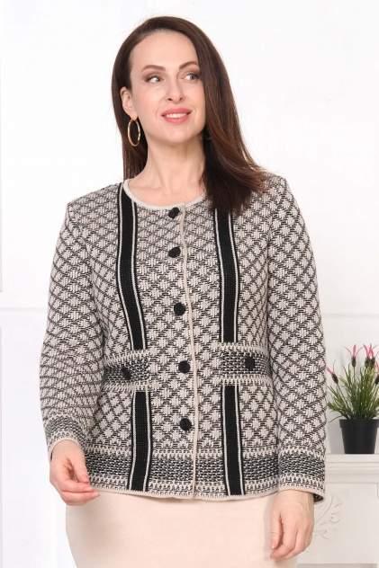 Жакет женский Текстильная Мануфактура Д 2246 бежевый 56 RU