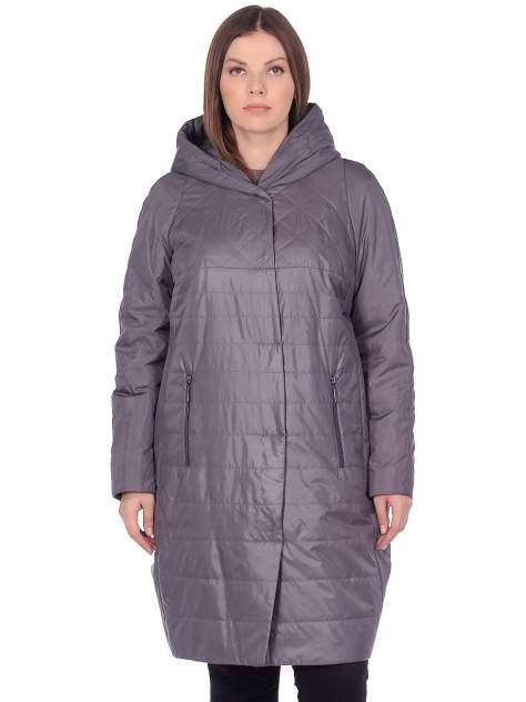 Пальто женское Pit.Gakoff Лика серое 50 RU