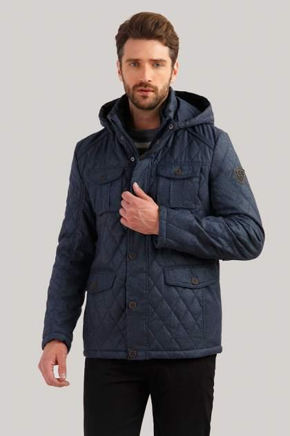 Куртка мужская Finn-Flare B19-22013 синяя 4XL