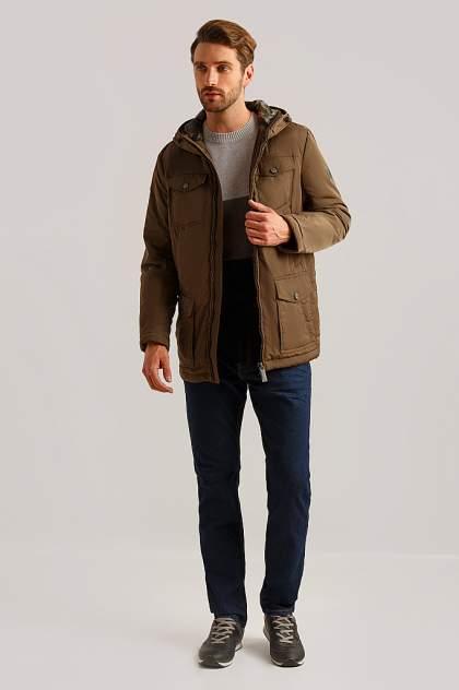 Куртка мужская Finn-Flare B19-22016 коричневая 4XL