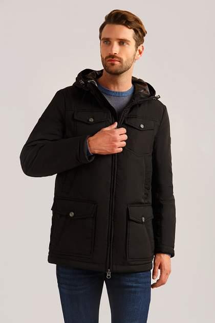 Куртка мужская Finn-Flare B19-22016 черная 4XL