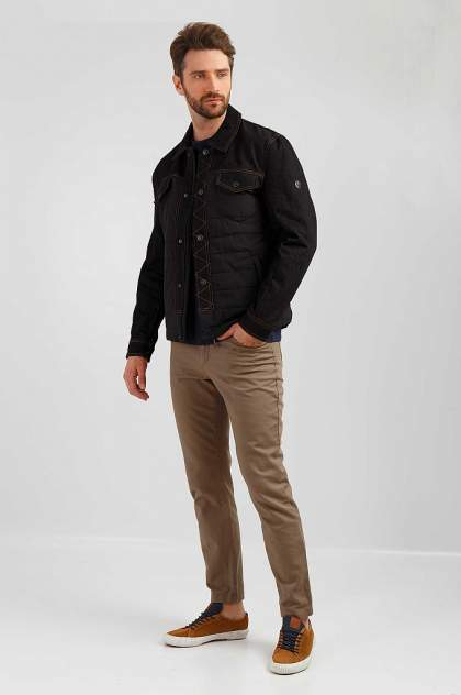 Куртка мужская Finn-Flare B19-42021 черная 2XL