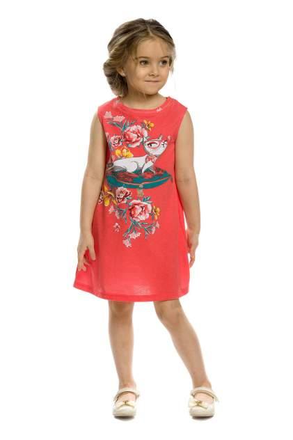 Платье детское Pelican, цв. красный, р-р 86