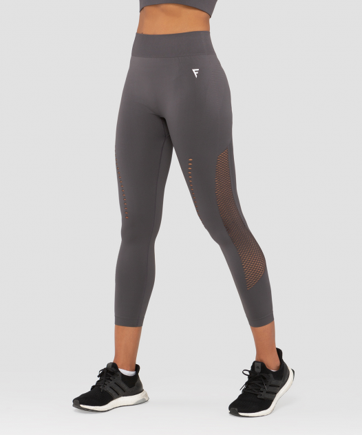 Женские тайтсы FIFTY Essential Knit dark grey FA-WH-0202-DGR, серый