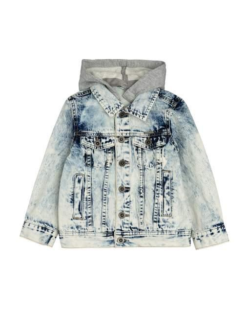 Джинсовая куртка для мальчиков Gulliver, цв. голубой, р.104