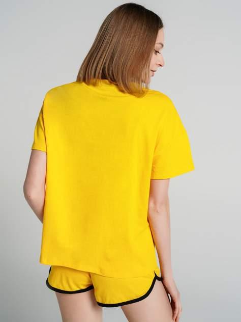 Пижама женская ТВОЕ 75438 желтая S