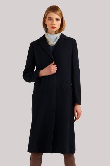 Пальто женское Finn Flare B19-11086 синее M